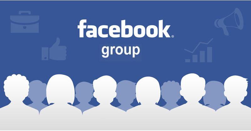 Liên kết với các nhóm trên Facebook.