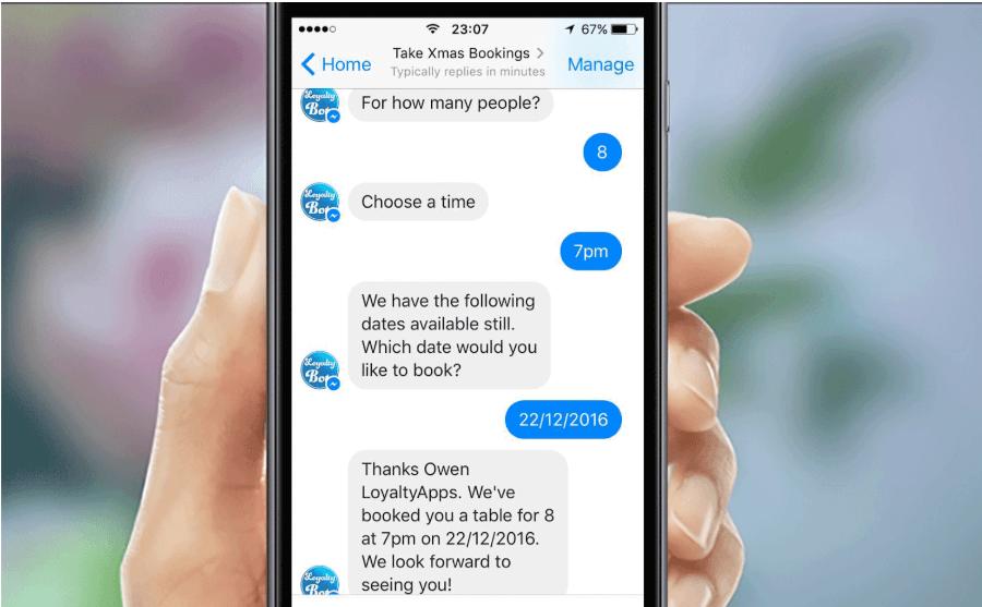 Chat bot đang dần là xu hướng cho marketing hiện đại