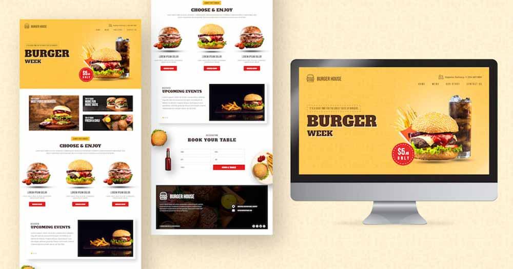 Website nhà hàng thân thiện với khách hàng