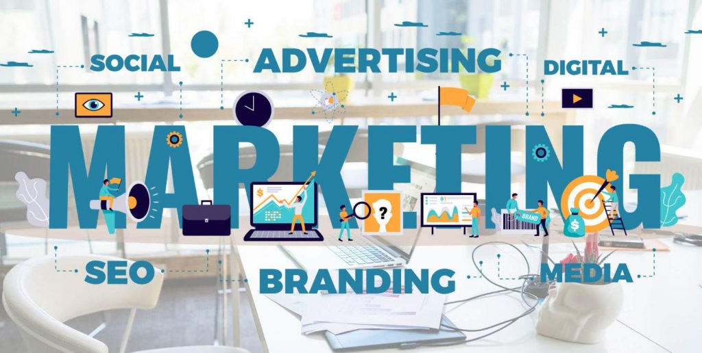 xây dựng marketing