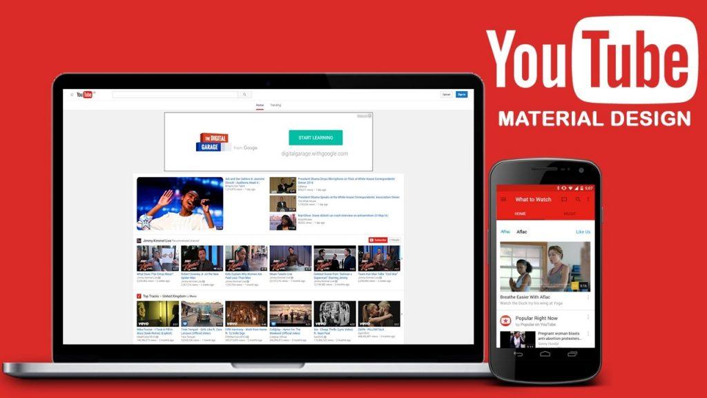Quảng các web thông qua trang mạng xã hội lớn youtube
